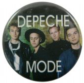 Depeche Mode - 'Group Hat' Button Badge